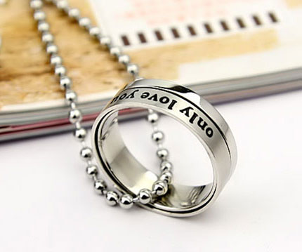 Engraved Spinner Rings Cheap Promise Rings for Men - Click Image to Close