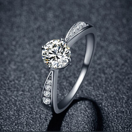 not of man cz carat wedding made rings cut attractive ring solitaire diamond engagement x photo round