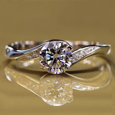 Swarovski Zirconia Alternatives to Diamond Engagement Rings