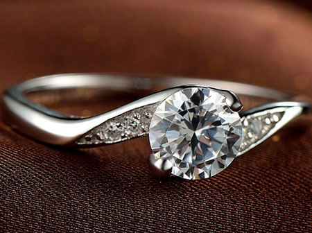 Swarovski Zirconia Alternatives to Diamond Engagement Rings - Click Image to Close