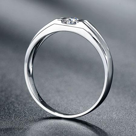 White gold diamond wedding bands for men